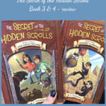 The Secret of the Hidden Scrolls – book 3 & 4 – Crew Review