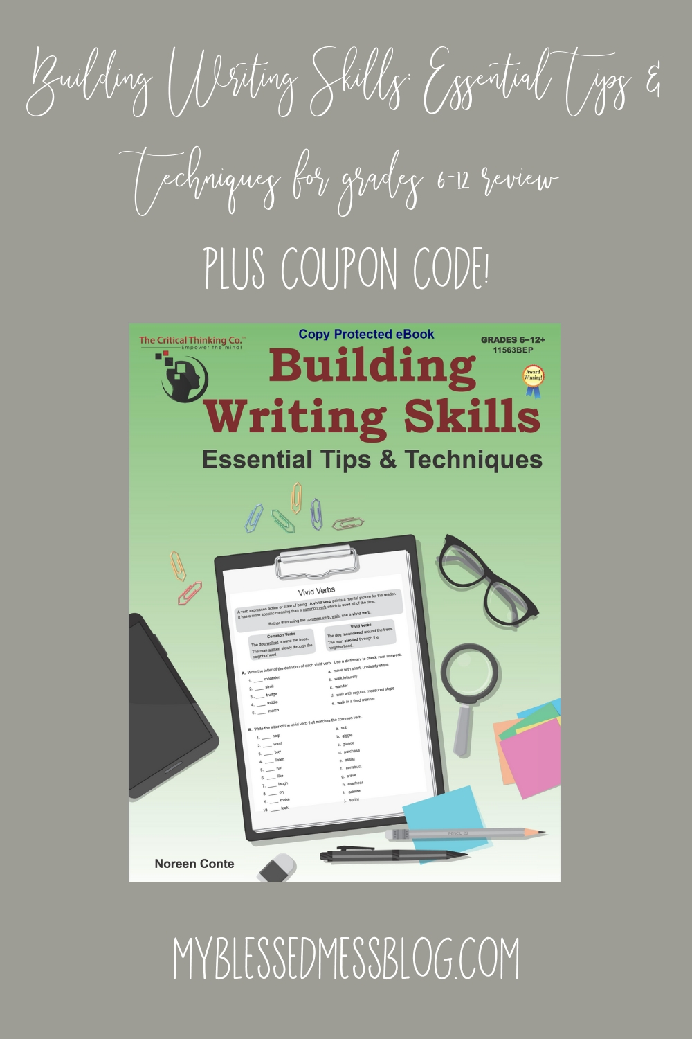 building writing skills review