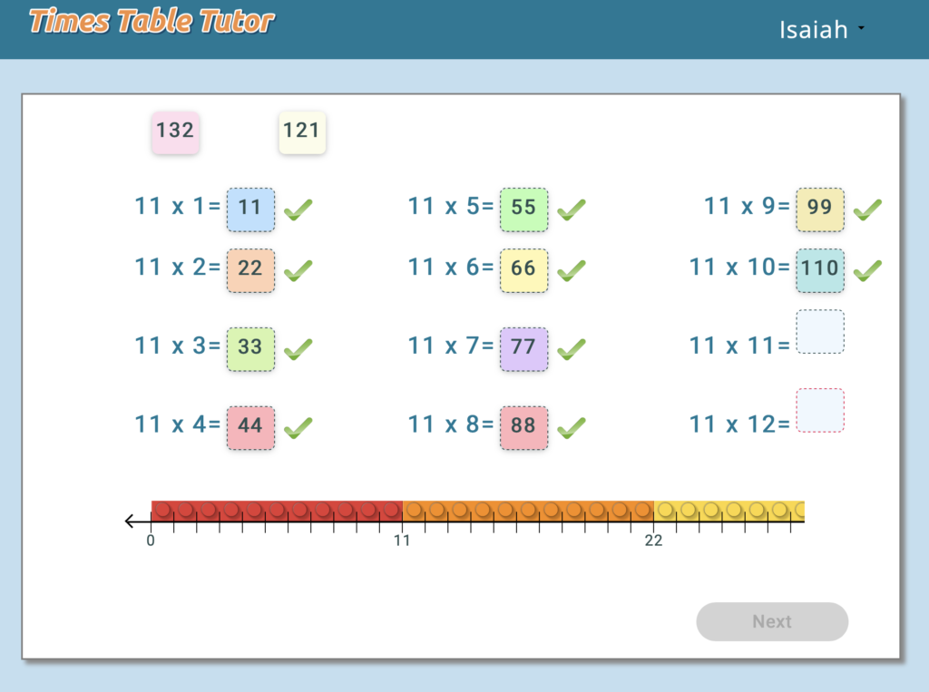 times-table-tutor-activity
