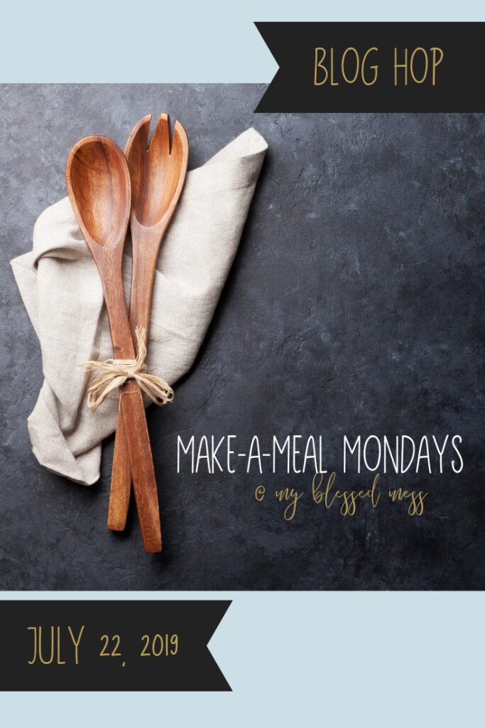 make a meal mondays blog hop