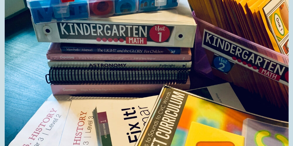 NOT Back to School Blog Hop – Eclectic Homeschooling Curriculum Choices 2019-20