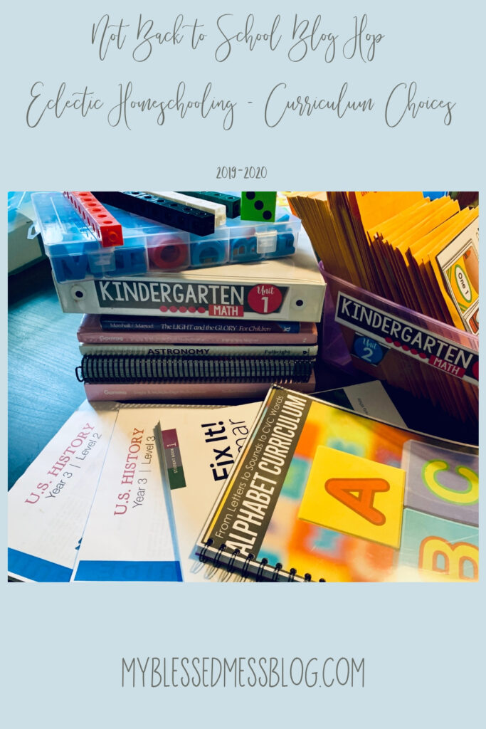 eclectic homeschooling curriculum choices 2019