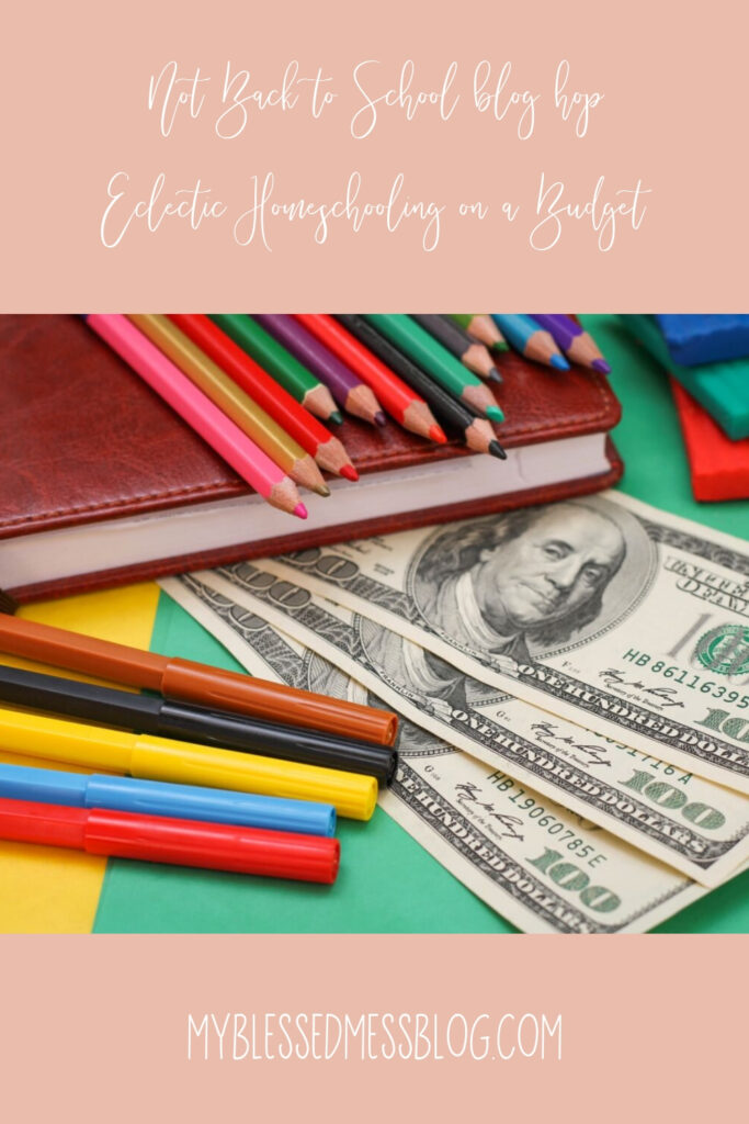 eclectic homeschooling on a budget
