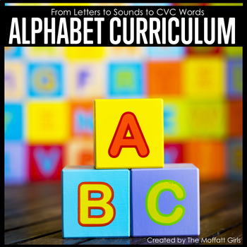 kindergarten alphabet curriculum